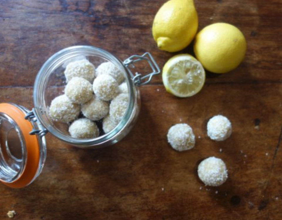 Lemon Bliss Balls Stock
